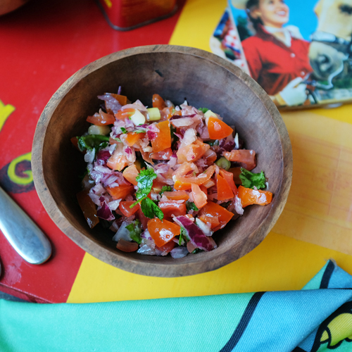 Tomato Salsa on board