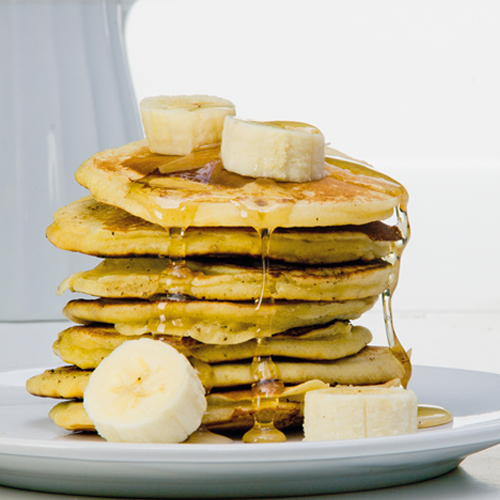 Pancake and banana